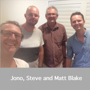 Jono Steve and Matt Blake Square Pic